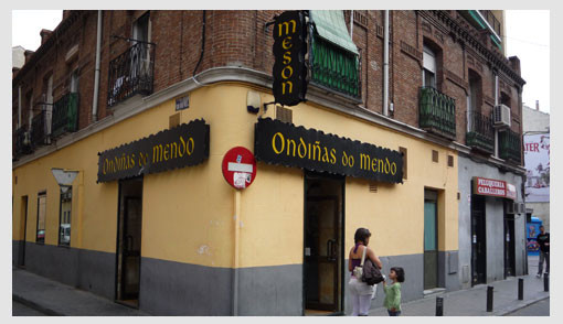 Bar Ondiñas do Mendo en Tetuán
