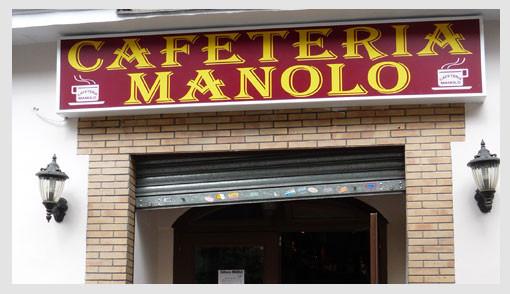 Cafetería Manolo
