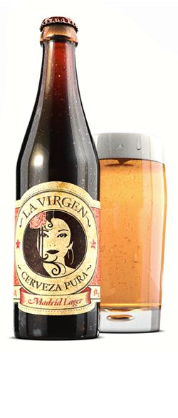 Cervezas La Virgen. Puro placer madrileño.