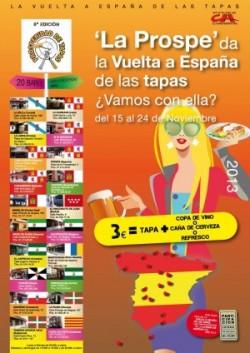 Ya empieza la Vuelta a España de las tapas en Prosperidad