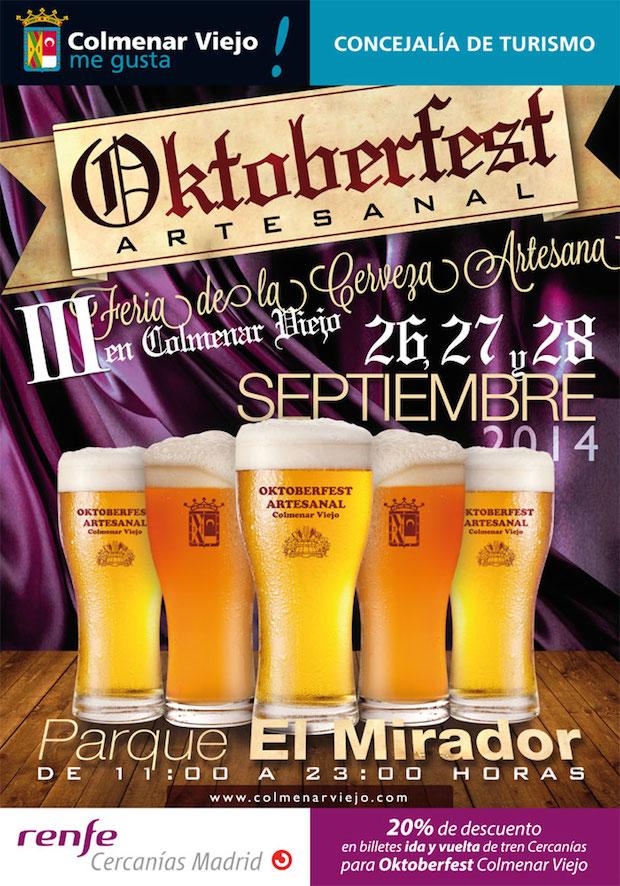 Cartel Oktoberfest Colmenar Viejo