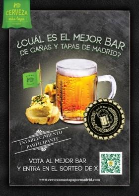 Se busca el mejor bar de tapas de Madrid