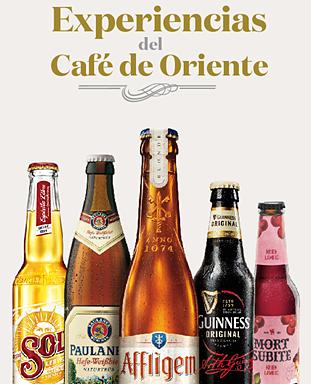Café de Oriente: Beer Sensantions menu