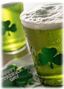 Cerveza Verde San Patricio