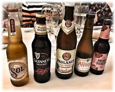 cerveza beer sensations cafe oriente