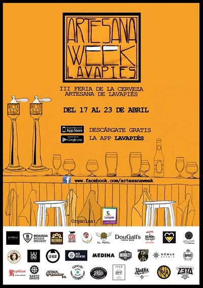 cartel artesana week 2017