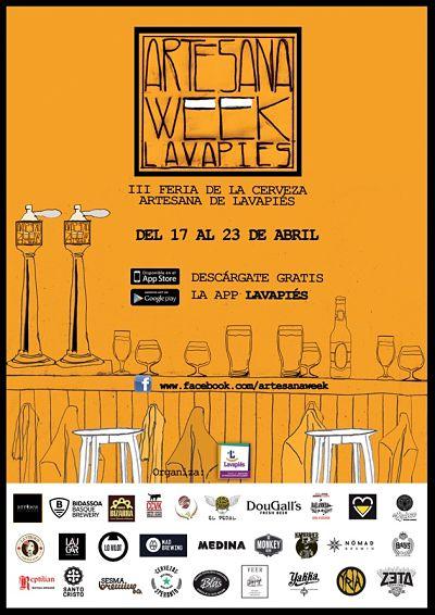 cartel artesana week 2017