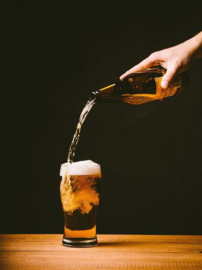 tiraje de cerveza de botella artesana industrial
