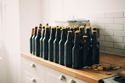 botellas cascos cerveza artesana chapas botellines