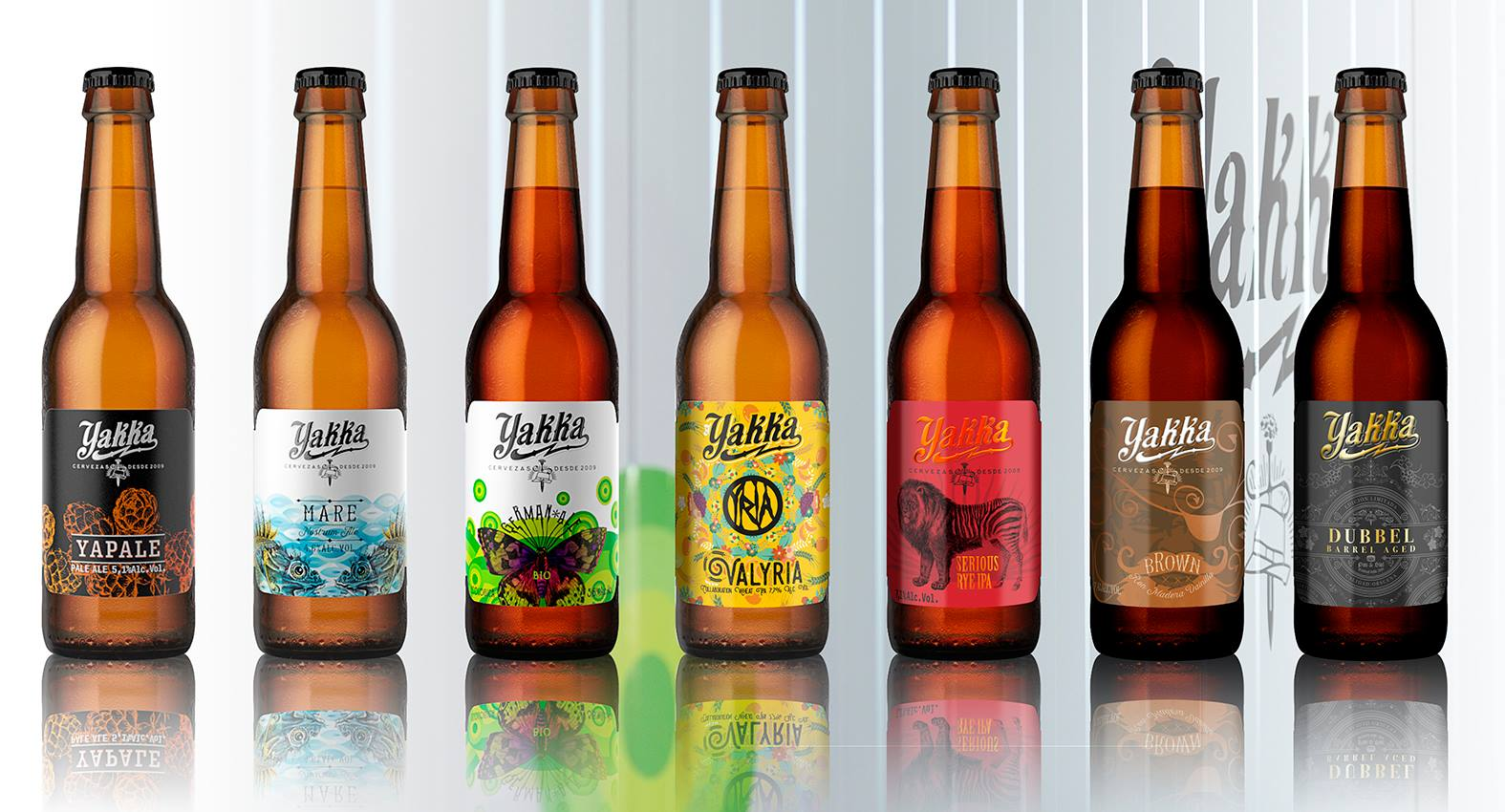 diferentes tipos de cervezas yakka