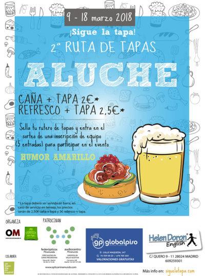 Ruta de Tapas Aluche 2018