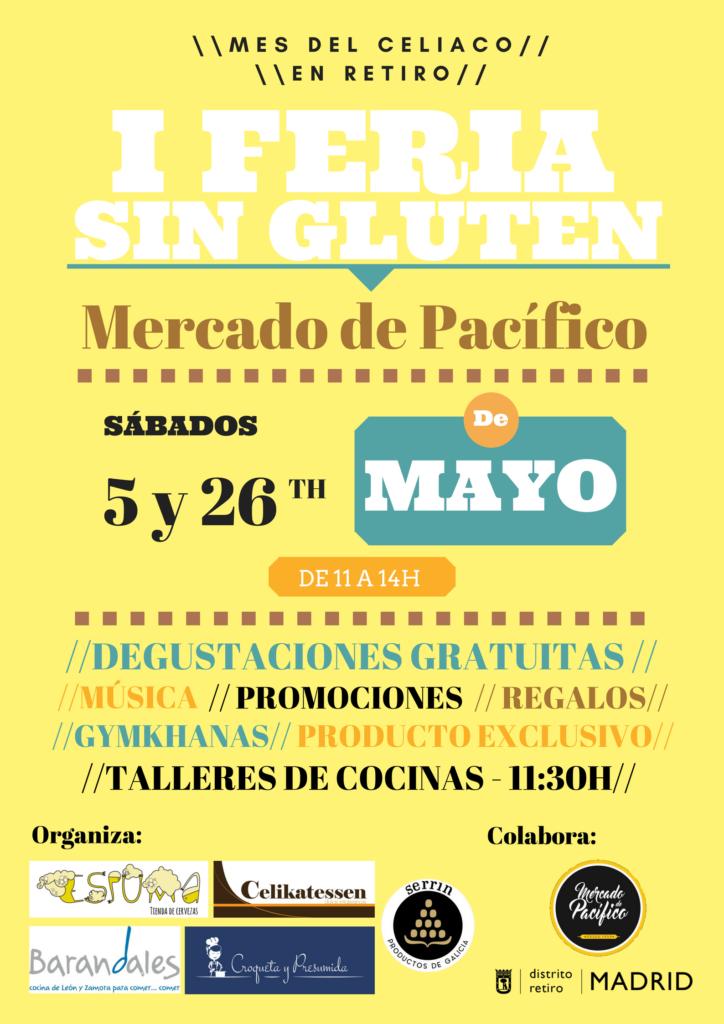 Feria Celiacos cartel