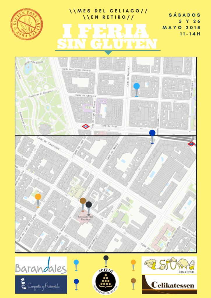 Feria celíacos mapa