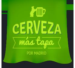 Cerveza mas Tapa por Madrid