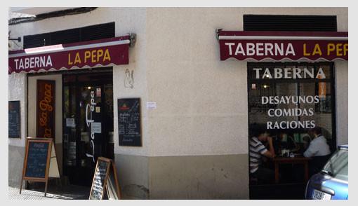 Taberna La Pepa