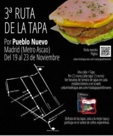 Pueblo Nuevo celebra su III Ruta de la Tapa