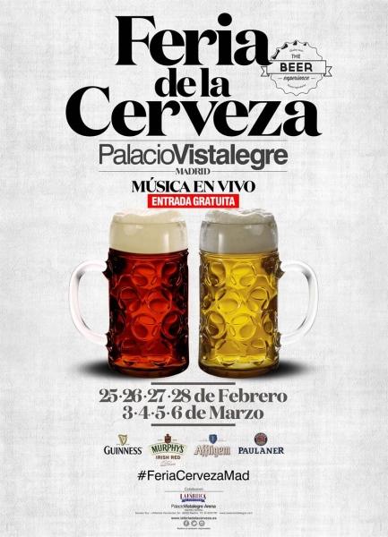 Llega la Feria de la Cerveza a Madrid