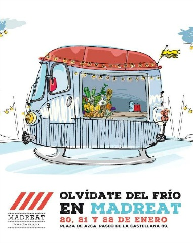 Vuelven las foodtrucks de MadrEAT