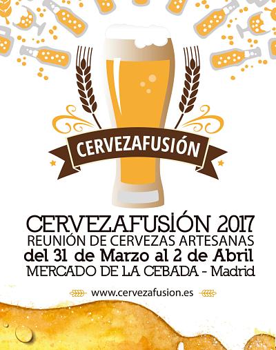 Cerveza Fusión en el Mercado de la Cebada