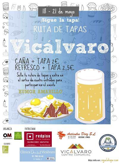 Ruta de Tapas Vicálvaro 2017