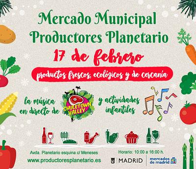 IX Edición del Mercado de Productores Planetario