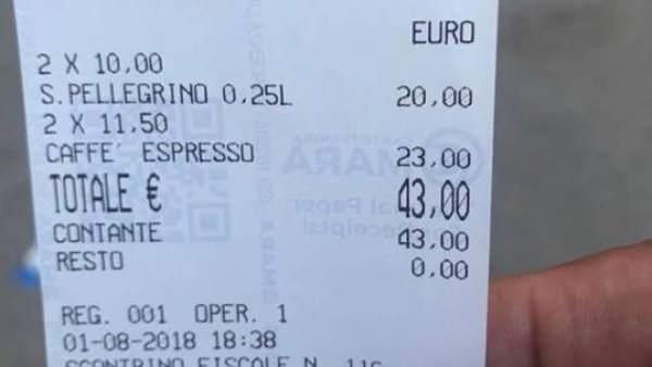 facturas cafe