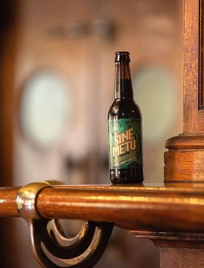 Sine Metu, una cerveza que tiene madera de whiskey