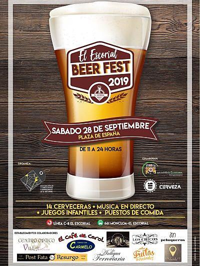III Feria de la Cerveza de El Escorial