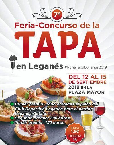 VII Feria de la tapa de Leganés
